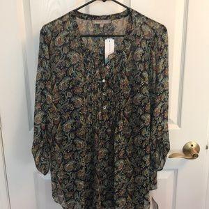 Size large maternity blouse